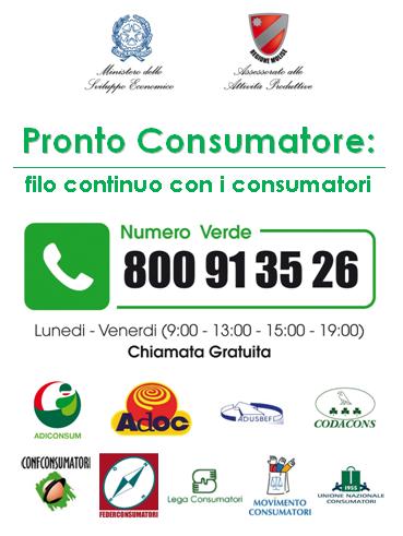 pronto consumatore II edizione